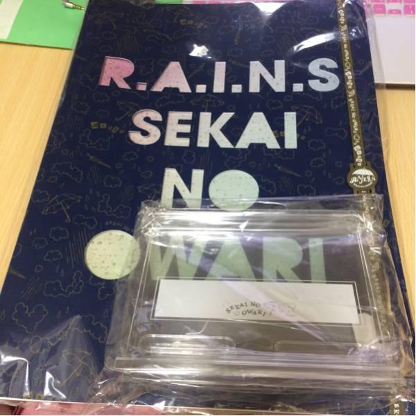 [新品]Sekai no owari 会報ファィル ライブグッズの画像