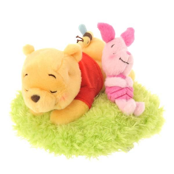 ぬいぐるみ プーさん&ピグレット SPRING FOREST 定価以下 くまのプーさん ディズニーグッズの画像