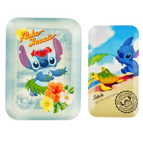 メラミントレイ スティッチ Lilo&Stitch 15th Anniversary ディズニーグッズの画像