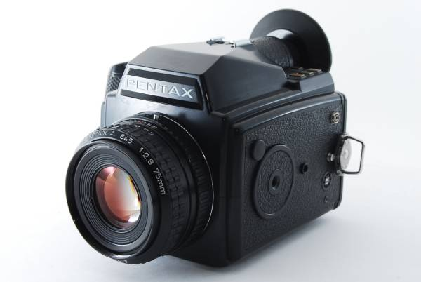 5091 使用感極少 美品 ペンタックス PENTAX 645 SMC PENTAX-A 645 75mm f2.8 動作良好 中