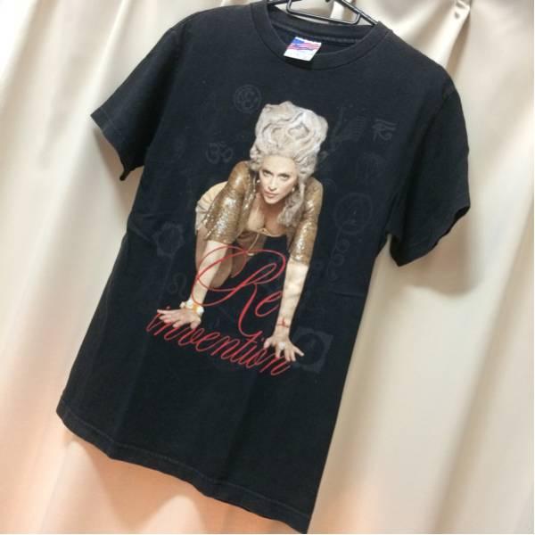 マドンナ MADONNA 2010 ツアーTシャツ バンドTシャツ 古着 バンドT ライブグッズの画像