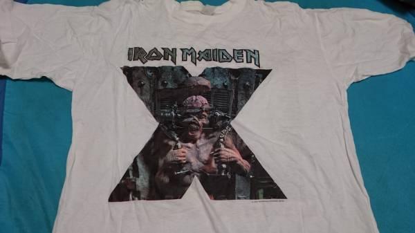 レア! IRON MAIDEN THE X-FACTOUR 95/96 Tシャツ  アイアン・メイデン ライブグッズの画像