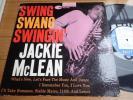 US Blue Note mono dg rvg ear SWING SWANG SWINGIN / JACKIE McLEAN