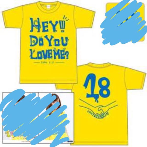 【℃-ute】萩原舞 18歳 バースデー Tシャツ Lサイズ ライブグッズの画像