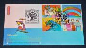 2002年 国連 ヨハネスブルク・サミット ウイーン版4種貼付 初日カバー