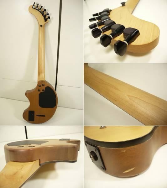 〓FERNANDES/フェルナンデス アンプ内蔵ギター ZO-3 木目調 ぞうさんε_画像3