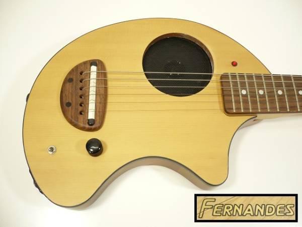 〓FERNANDES/フェルナンデス アンプ内蔵ギター ZO-3 木目調 ぞうさんε