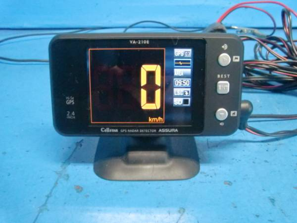 セルスター GPSレーダー VA-210E 中古品
