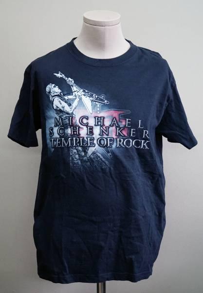 MICHAEL SCHENKER TEMPLE OF ROCK Tシャツ XLサイズ 古着  ワンオーナー  マイケルシェンカー ・テンプル・オブ・ロック