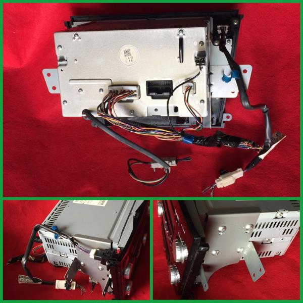 GX-206JE ケンウッド オーディオ 6 CDチェンジャー MD デュアルエアコン 純正 スバル レガシィ B4 BL5 H20年 動作確認済/動作保証 中古_画像3