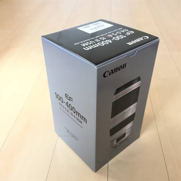 キャノン CANON EF100-400mm F4.5-5.6L IS II USM 未使用