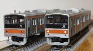 KATO 10-223 205系5000番台 武蔵野線色 8両編成セット むさしの号 しもうさ号でも活躍中