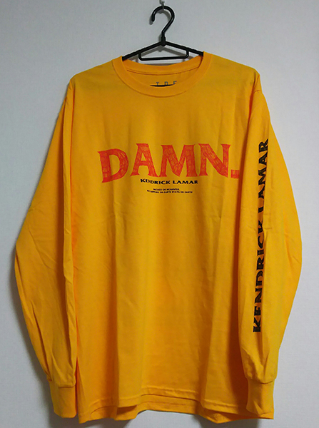 ●Kendrick Lamar『Kung Fu Kenny L/S T-Shirt』Mサイズ●ロングスリーブTシャツ●TDE売り切れ 検 The Weeknd Frank Ocean Migos Damn.