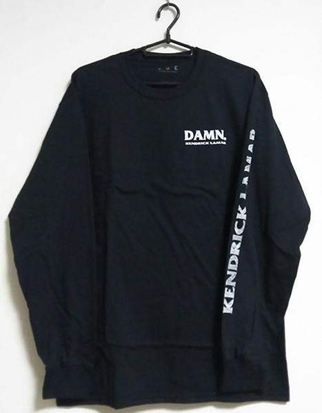 ●Kendrick Lamar『Kung Fu Kenny L/S T-Shirt』(ブラック)Mサイズ●ロングスリーブTシャツ●検 The Weeknd Frank Ocean Migos TDE Damn.