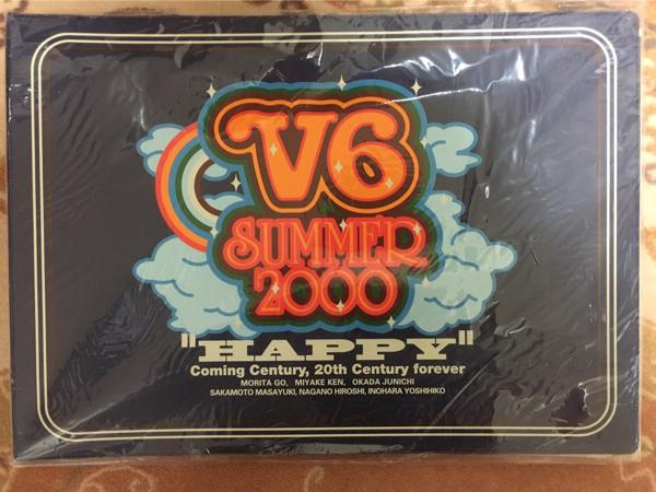 V6 SUMMER2000 HAPPY コンサートグッズの画像