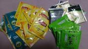 ★煎茶・紅茶・緑茶★ティーバッグ・計30袋セット★リプトン・おーいお茶・他