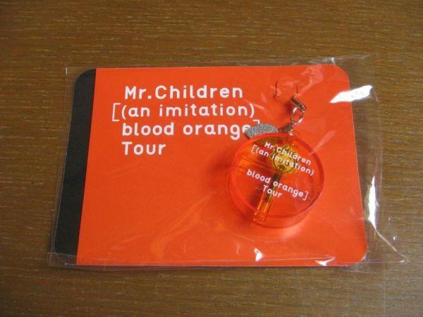 Mr.childrenミスチル blood orangeツアー イヤホンジャックストラップ