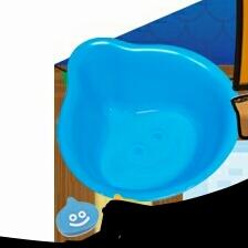 二点セット A賞スライムふろおけ スポンジ ドラゴンクエスト ふくびき所スペシャル くじ ドラクエ 新品未開封 風呂桶  グッズの画像