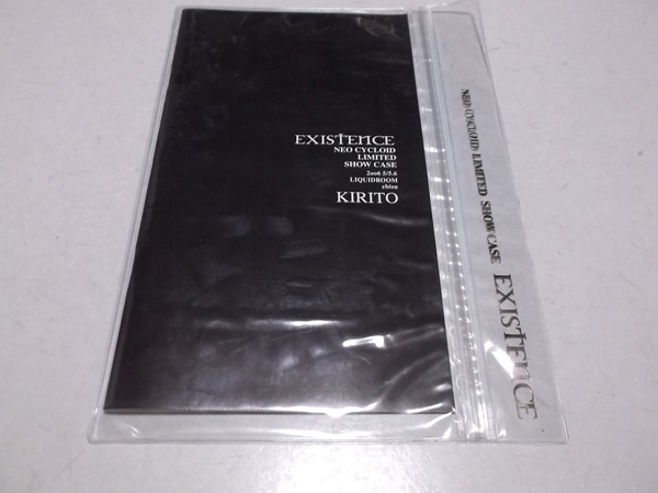 ▼ KIRITO キリト 【 2006パンフ 美品♪ EXISTENCE NEO CYCLOID LIMITED DHOW CASE 】 PIERROT ピエロ angelo
