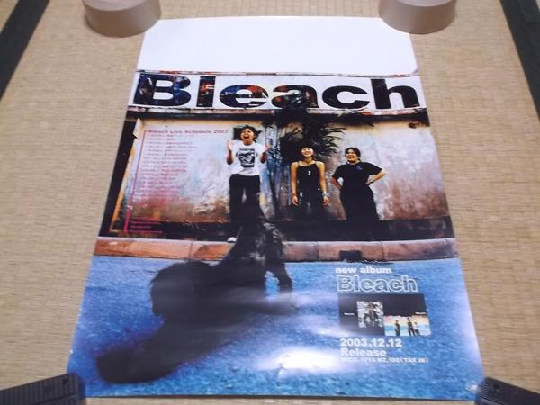 ▼ ブリーチ Bleach 【 2003アルバム&ツアー告知 ★ ポスター 】
