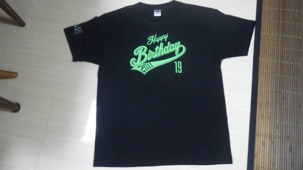美品 AKB48 誕生日 Tシャツ 黒 横山由依 L 2011 送料164円 ブラック HKT NMB SKE 生誕 19歳 ハッピーバースデー happy birthday