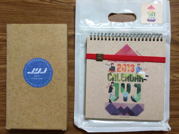 JYJ 2013年カレンダーセット