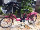 バッテリー最高レベル!★Panasonic/5Ah/ギュットミニ/ 20インチ 子供乗せ 3人乗り 電動自転車/電動アシスト自転車