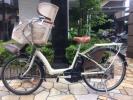 YAMAHA/電動自転車/子供乗せ/4Ah 3人乗り 電動アシスト自転車 中古