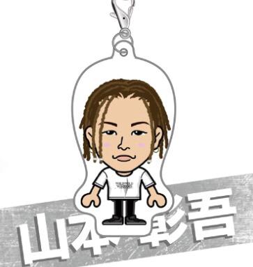 オンラインガチャ☆ツアーTシャツ☆山本彰吾クリーナー