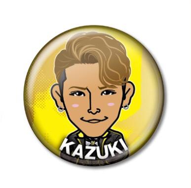 オンラインガチャ☆アニバ衣装☆KAZUKI缶バッジ