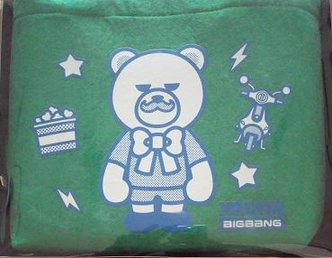 未使用 未開封 T.O.P from BIGBANG KRUNK プチバッグ 緑 たぷ トップ チェ・スンヒョン