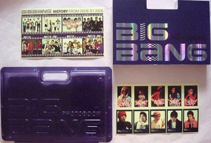 BIGBANG HISTORY FROM 2008 to 2006 PHOTO BOOK G-DRAGON TOP SOL D-LITE VI ヒストリーフォトブック ジヨン タプ ヨンベ テソン スンリ