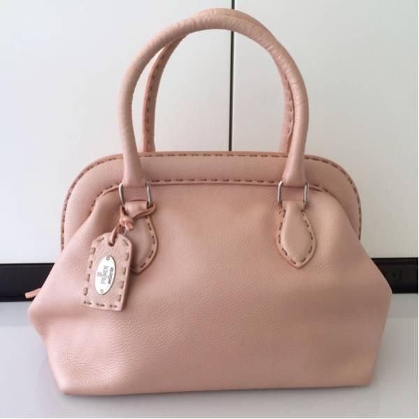 【正規品】FENDI フェンディ セレリア ハンドバッグ / トートバッグ ピンク 美品売りきっちゃいます_画像1