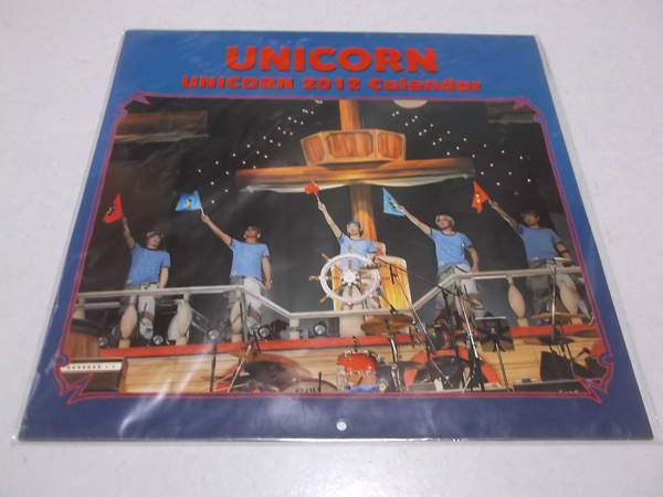 ▼ ユニコーン ★ UNICORN 【 2012 カレンダー 壁掛け型 】 美品♪