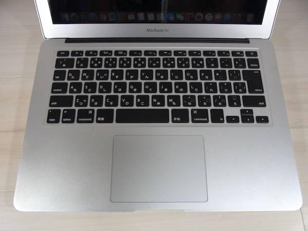 1円~ 13.3インチ APPLE MacBook Air A1466 Mid2013 MD760J/A SSD128GB メモリ4GB 美品・動作良好_画像3
