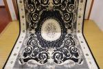 ペルシャ柄絨毯 150万ノット 新品未使用 160×230 訳あり アウトレット 黒