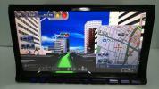 7型ワイドVGA5.1ch内臓最高峰HDDサイバーナビZH009・2010年・4倍速録音再生・DVD・オービスデータ入り☆動作保証☆