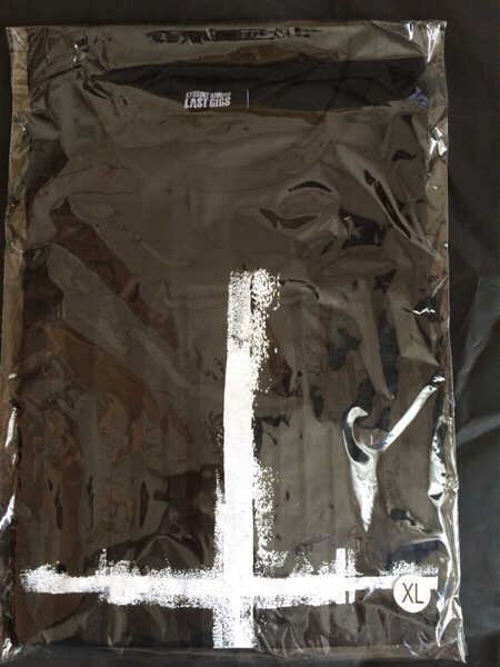 氷室京介 LASTGIGS Bタイプ Tシャツ XL おまけ付き2 ライブグッズの画像