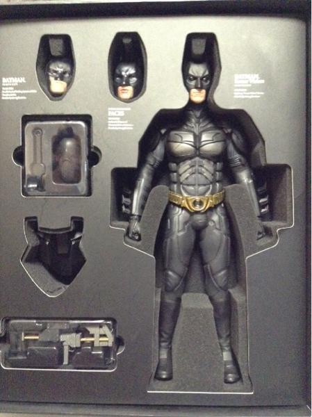 【中古】ホットトイズ DX02 バットマン 1/6 グッズの画像