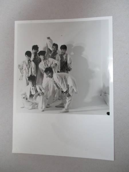 宣伝用写真 チェッカーズ THE CHECKERS 藤井フミヤ ●● ライブグッズの画像
