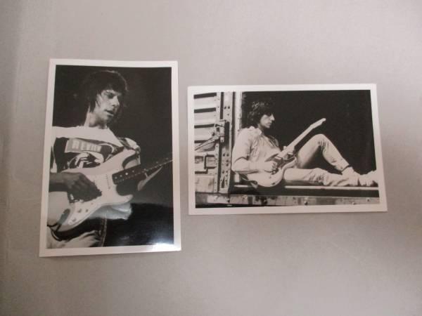 宣伝用写真  2枚  ジェフ・ベック Jeff Beck