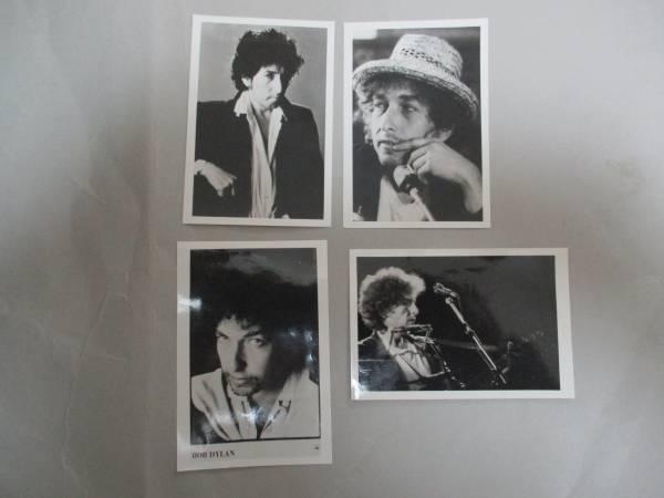 宣伝用写真  4枚 ボブ・ディラン Bob Dylan