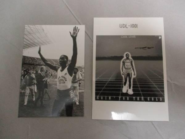 宣伝用写真  2枚 カール・ルイス Carl Lewis