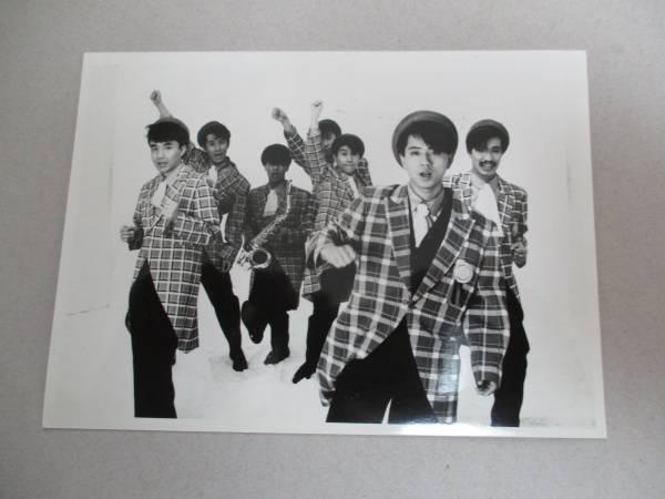 宣伝用写真 チェッカーズ THE CHECKERS 藤井フミヤ ライブグッズの画像