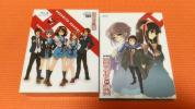 【Blu-ray】涼宮ハルヒの憂鬱 ブルーレイコンプリートBOX(初回限定生産版)+涼宮ハルヒの消失(限定版)セット【中古美品】【下敷き付】