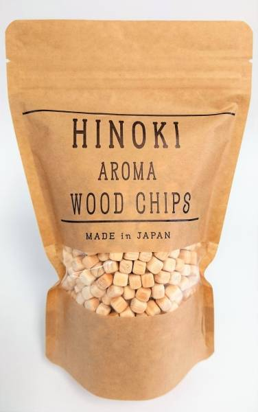 超話題!桧の香り~【ヒノキ アロマウッドチップス HINOKI AROMA WOOD CHIPS】土佐桧使用!