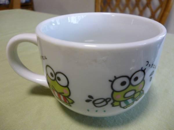 レトロ レア★けろけろけろっぴ 1989年 陶器のマグカップ ①サンリオ★未使用 グッズの画像