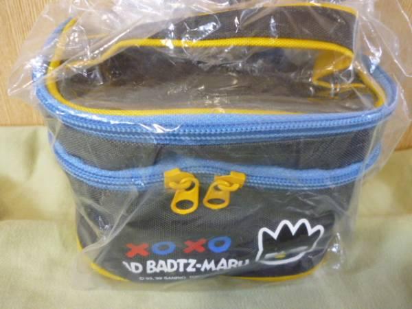レトロ レア★バッドばつ丸 2段式 ランチバッグ 1999年 サンリオ 非売品★未開封 グッズの画像