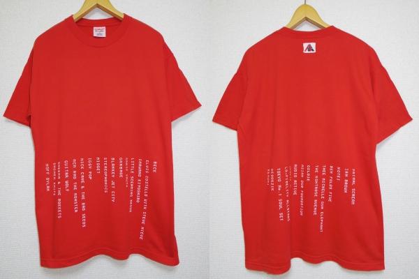90s■FUJI ROCK フジロック■1998年 Tシャツ■BECK SONIC YOUTH IGGY POP ELVIS COSTELLO PRIMAL SCREAM GOLDIE JUNKIE XL GEODEZIK cd dvd