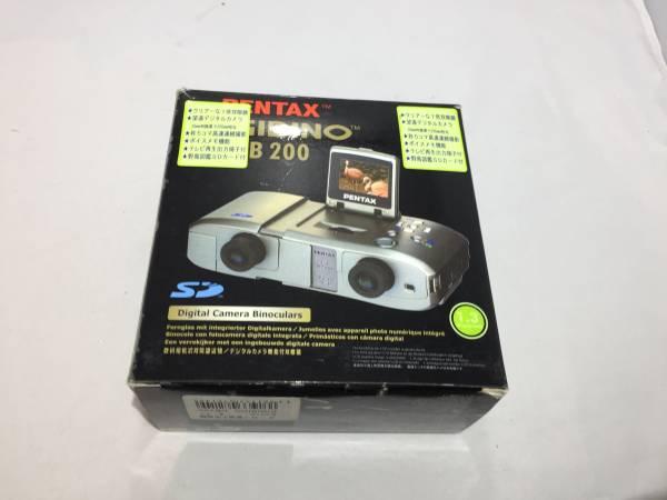 【未使用品】 PENTAX DIGIBINO DB-200 双眼鏡 DB200